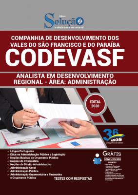 Concurso CODEVASF 2020 2021