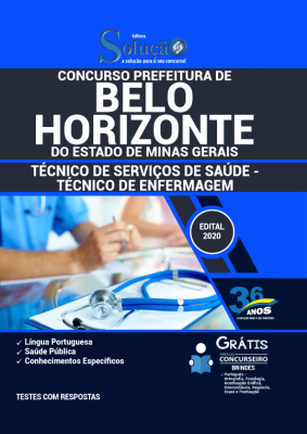 Concurso Prefeitura de Belo Horizonte MG 2021