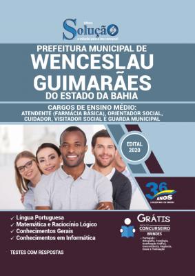 Concurso Prefeitura de Wenceslau Guimarães BA 2021