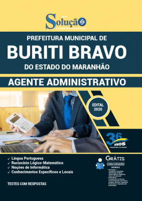 Concurso Prefeitura de Buriti Bravo MA 2021
