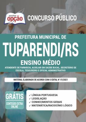 Concurso Prefeitura de Tuparendi RS 2021