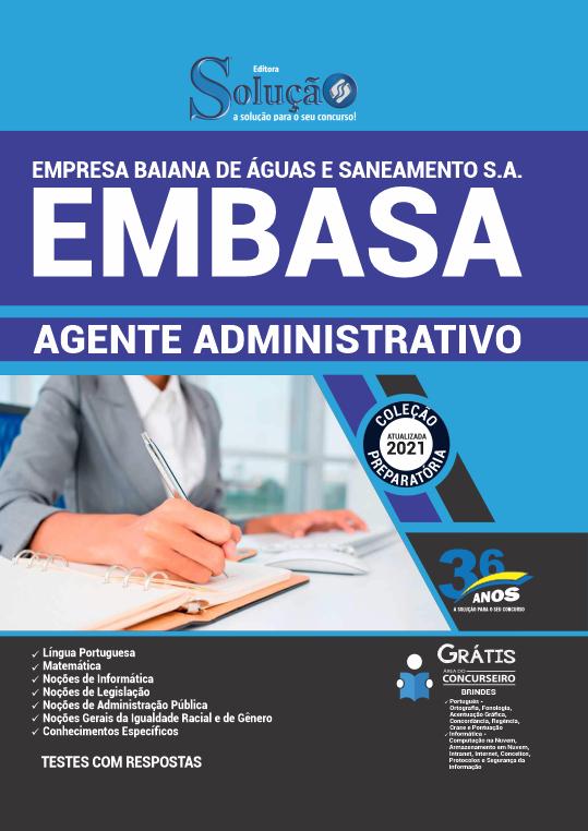 Concurso EMBASA 2021
