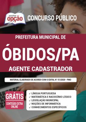 Concurso Prefeitura de Óbidos PA 2021