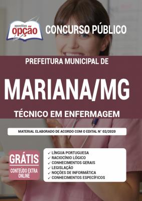 Concurso Prefeitura de Mariana MG 2021