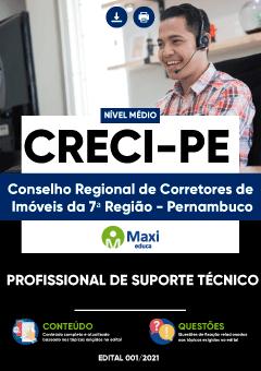 Concurso CRECI-PE 2021