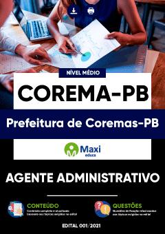 Concurso Prefeitura de Coremas PB 2021