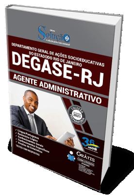 Concurso DEGASE RJ 2021