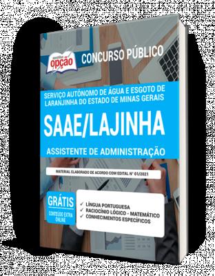 Concurso SAAE Lajinha MG 2021