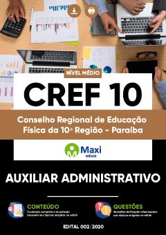 Concurso CREF 10 Paraíba 2021