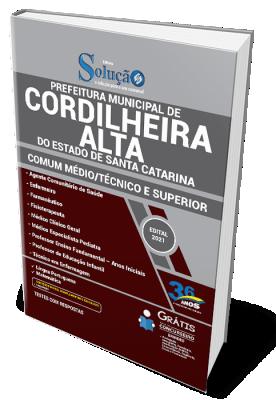 Concurso Prefeitura de Cordilheira Alta SC 2021
