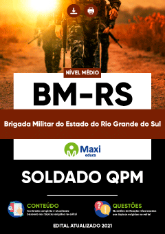 Concurso Brigada Militar RS 2021