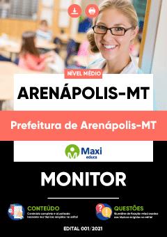 Apostila Prefeitura de Arenápolis MT 2021