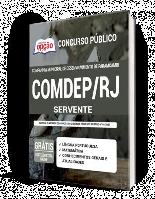 Concurso Comdep Paracambi RJ 2021