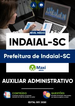 Concurso Prefeitura de Indaial SC 2021