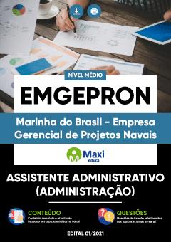 Concurso EMGEPRON Marinha 2021
