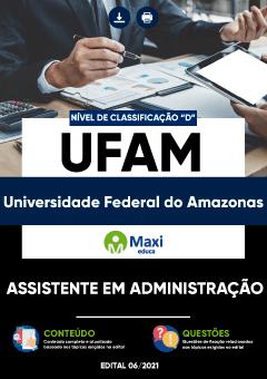 Concurso UFAM 2021