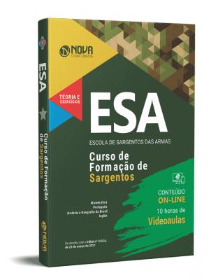 Concurso ESA 2021 Curso de Formação de Sargentos