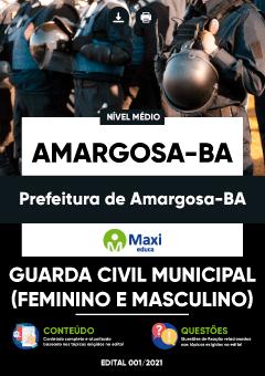 Concurso Prefeitura de Amargosa BA 2021
