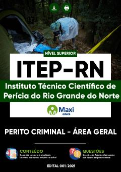 Apostila Concurso ITEP-RN 2021