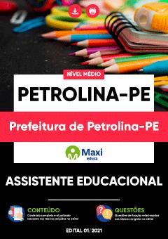 Concurso Prefeitura de Petrolina PE 2021