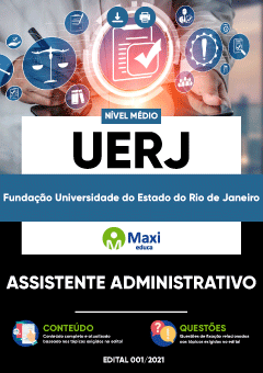 Concurso UERJ 2021 Assistente Administrativo