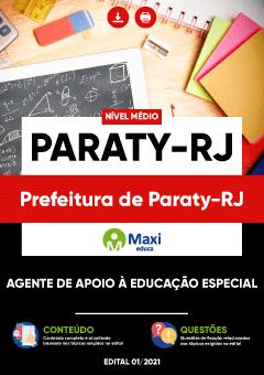 Concurso Prefeitura de Paraty RJ 2021