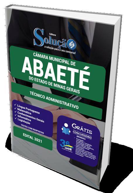 Concurso Câmara de Abaeté - MG 2021