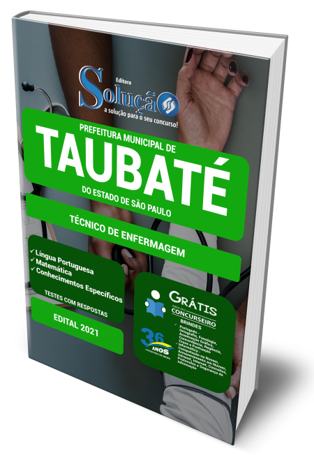 Concurso Prefeitura de Taubate SP 2021