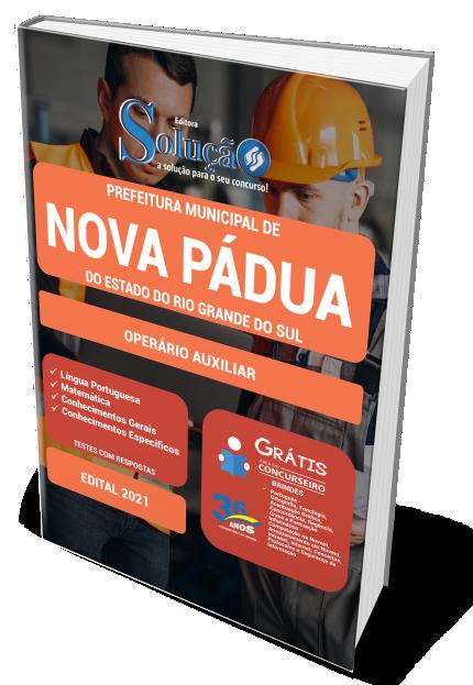 Concurso Prefeitura de Nova Pádua RS - 2021