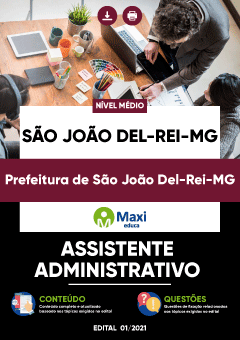 Concurso Prefeitura de São João Del-Rei MG 2021