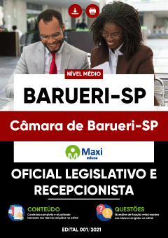 Concurso Câmara de Barueri SP 2021