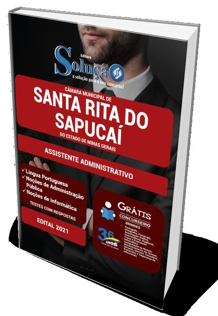 Concurso Câmara de Santa Rita do Sapucaí - MG 2021