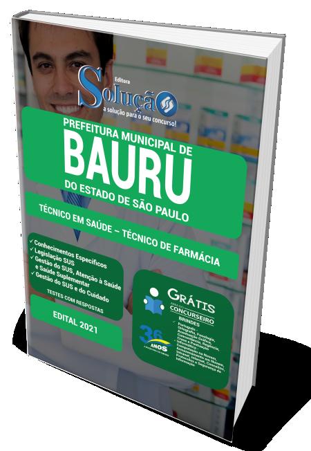 Concurso Prefeitura de Bauru - SP 2021