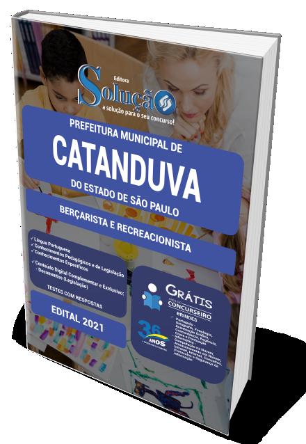 Concurso Prefeitura de Catanduva - SP 2021
