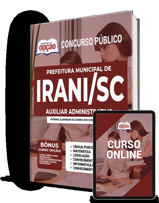 Concurso Prefeitura de Irani SC 2021