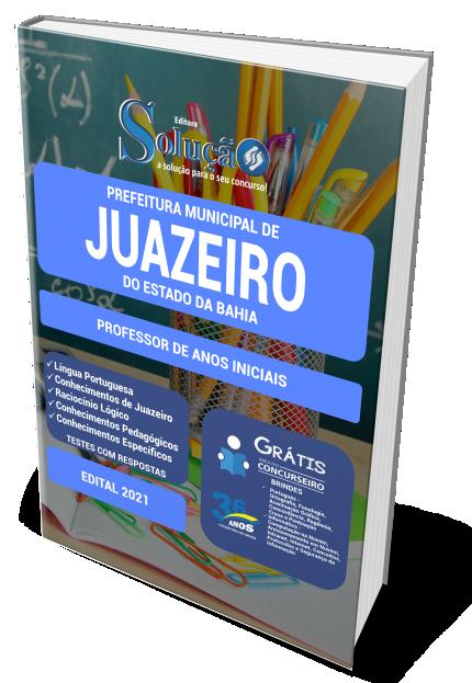 Concurso Prefeitura de Juazeiro - BA 2021