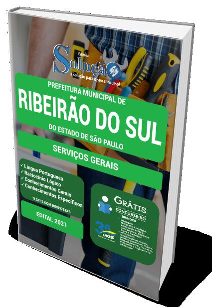 Concurso Prefeitura de Ribeirão do Sul - SP 2021