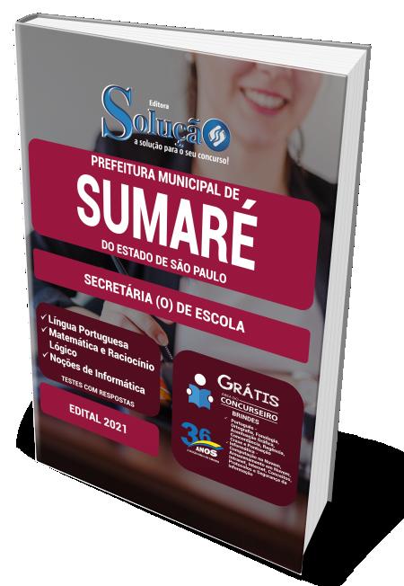 Concurso Prefeitura de Sumaré - SP 2021