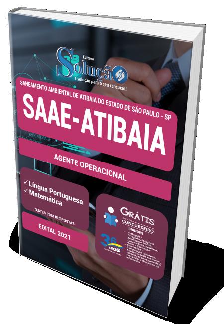 Concurso SAAE de Atibaia - SP 2021