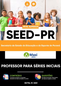 Concurso SEED - PR 2021