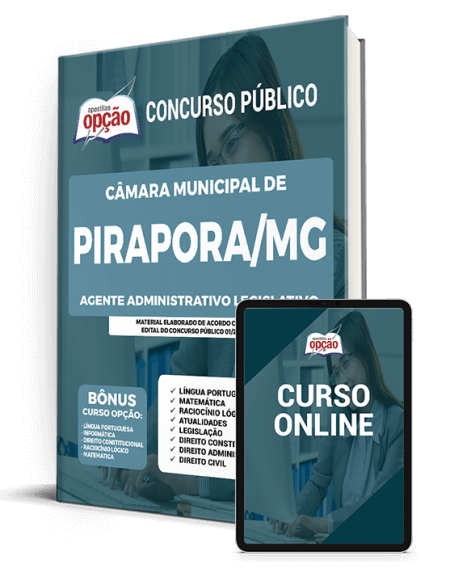 Concurso Câmara de Pirapora - MG 2021