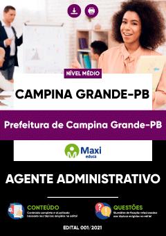 Apostila Prefeitura de Campina Grande PB 2021 pdf