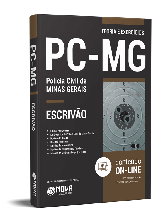 Apostila Concurso Polícia Civil MG 2021 PDF
