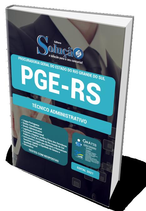 Concurso PGE-RS 2021 Apostila PDF