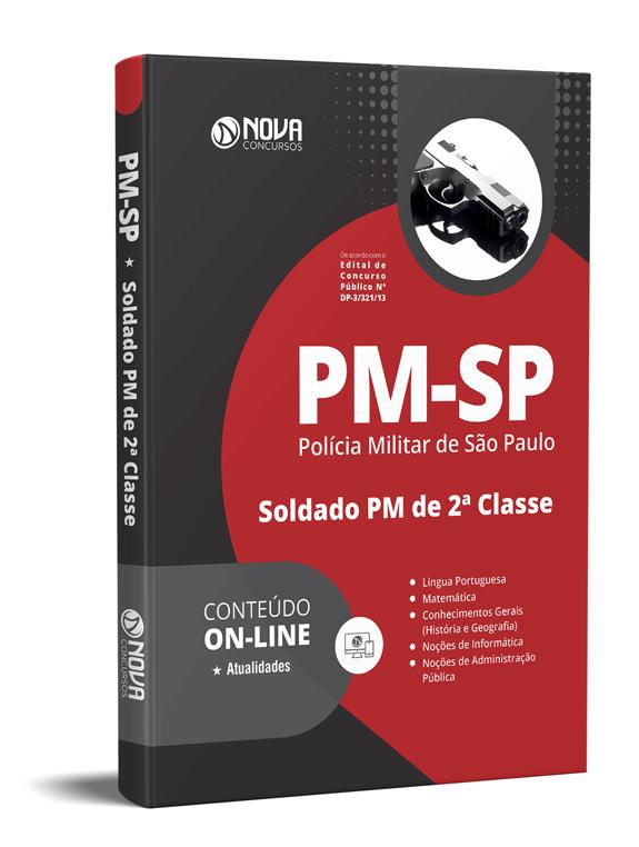 Apostila Concurso PM-SP 2021