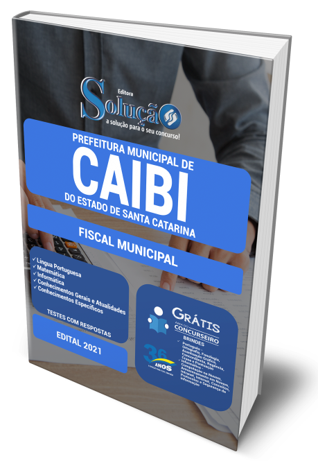 Concurso Prefeitura de Caibi - SC 2021