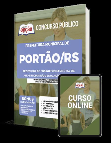 Concurso Prefeitura Municipal de Portão RS 2021