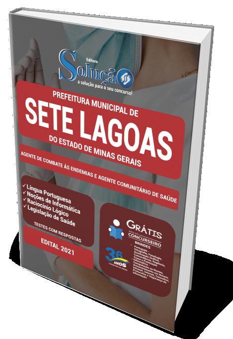 Concurso Prefeitura de Sete Lagoas - MG 2021