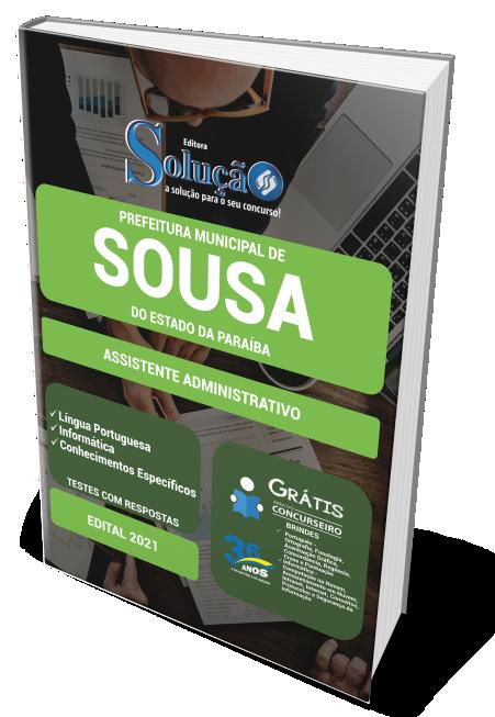 Concurso Prefeitura Municipal de Sousa - PB 2021