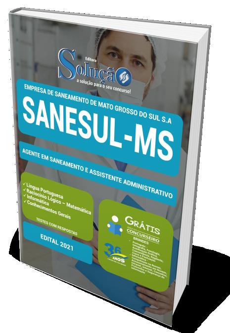 Concurso SANESUL - MS 2021